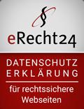 erecht24 siegel datenschutz rot - Home