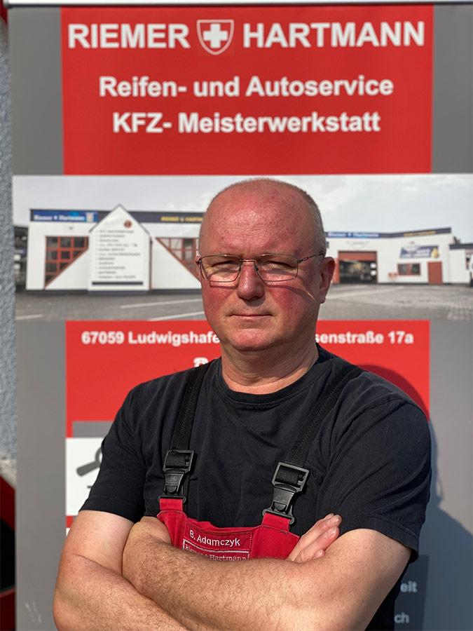 Adamczyk Boguslaw Mechaniker - Team Ludwigshafen am Rhein